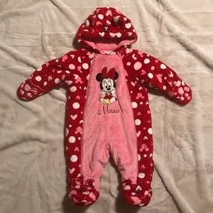 Disney Baby Minnie Suit for Winter